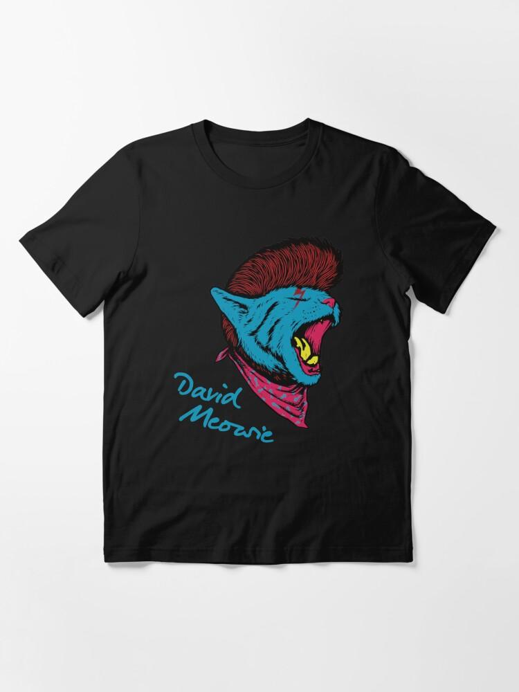 Alternative Ansicht von David Meowie Essential T-Shirt