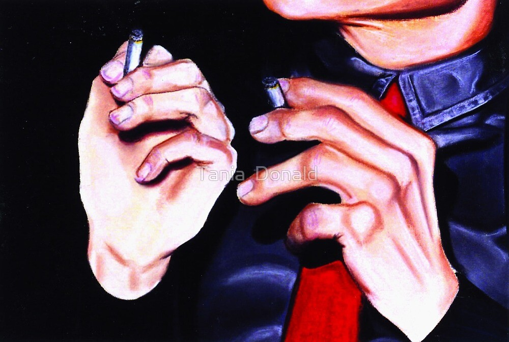 Smokers 2 by Tania  Donald