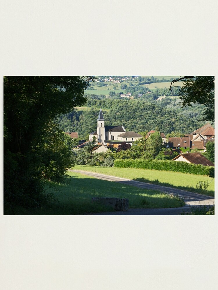 Alternate view of Morning light on Musieges village Photographic Print