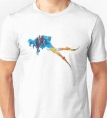 Man scuba diver 01 in watercolor T-Shirt