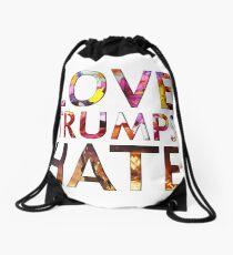 Love Trumps Hate 2016 Drawstring Bag