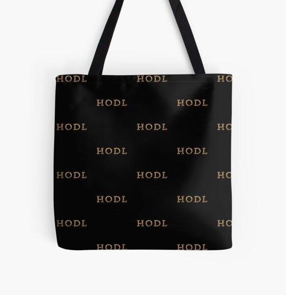 HODL Your Crypto All Over Print Tote Bag