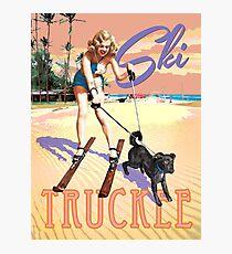 Ski Truckee! Photographic Print