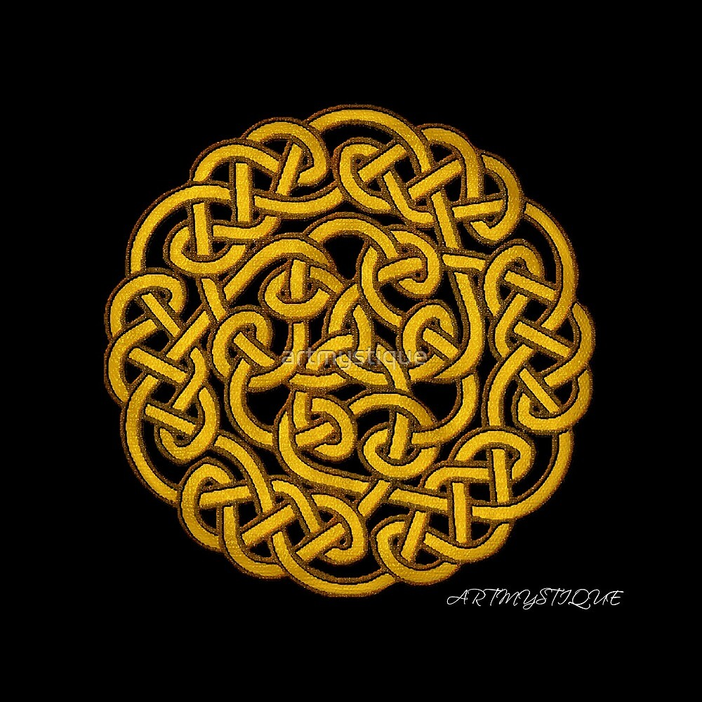 Celtic Knot Work by artmystique