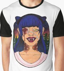 Vampire Girls Will Never Hurt You Graphic T-Shirt