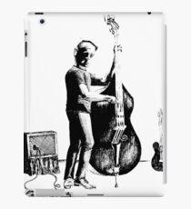 Upright Bass iPad Case/Skin