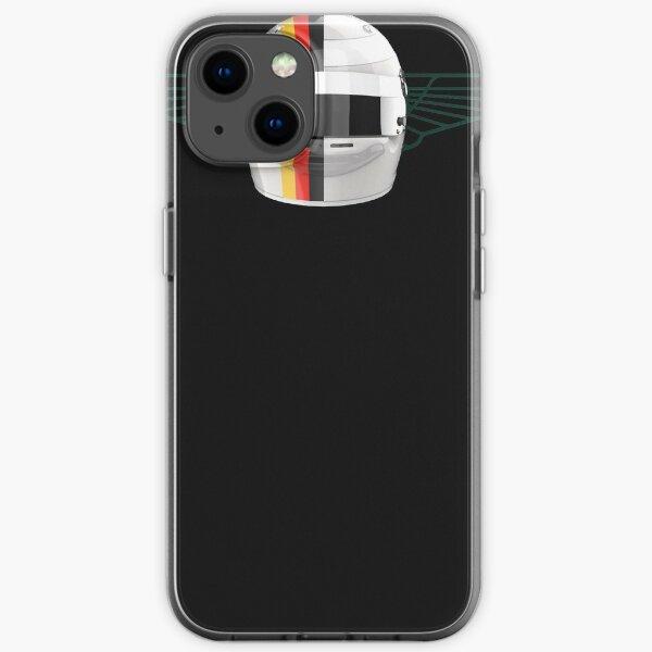 Sebastian Vettel Flügel Premium | Vettel-Geschenk iPhone Flexible Hülle
