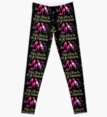 DAZZLING AND FABULOUS 50 YEAR OLD Leggings