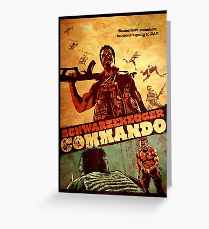 COMMANDO Greeting Card
