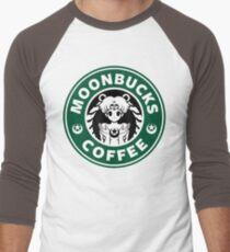 Moonbucks Coffee Men's Baseball ¾ T-Shirt