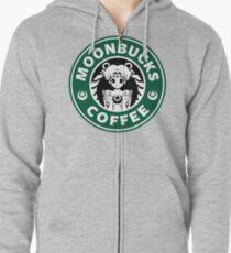 Moonbucks Coffee Zipped Hoodie
