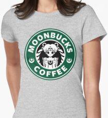 Moonbucks Coffee Women's Fitted T-Shirt