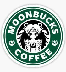 Moonbucks Coffee Sticker