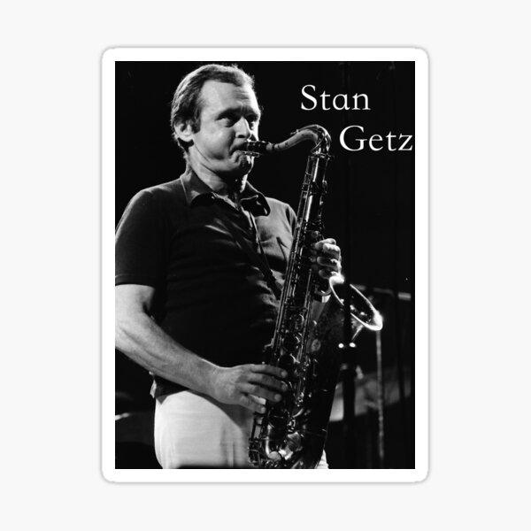 Stan Getz Sticker