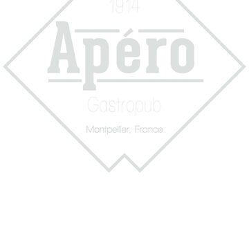 Apéro Gastropub (White) by AndersonJames