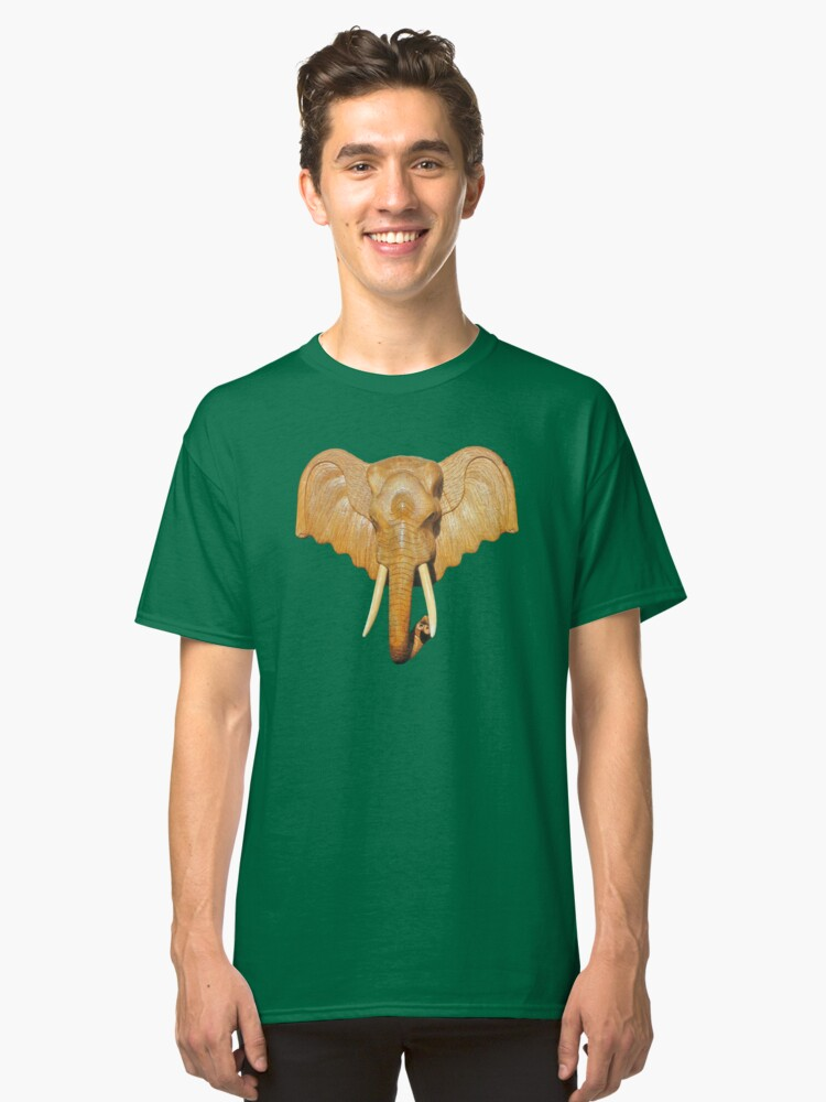 Thai Elephant tee Classic T-Shirt Front