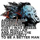 « Hoodoo better man Nightmares » par clad63