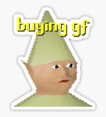 Dank Meme Gnome Stickers Redbubble