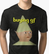 Runescape Gnome Child Tri-blend T-Shirt