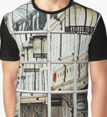 Shopping Arcade Abstract Graphic T-Shirt