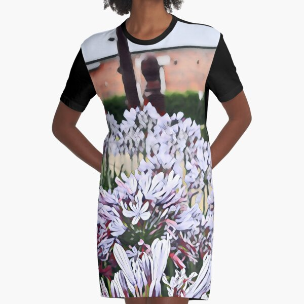 Agapanthus - Two Graphic T-Shirt Dress