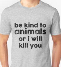 Be Kind o Animals T-Shirt