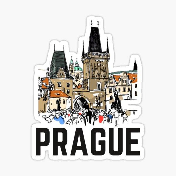 Charles Bridge Tower - Prague Sticker