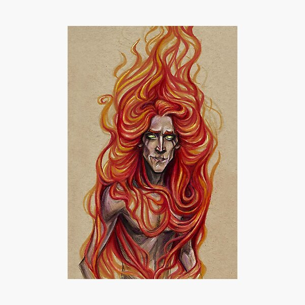 Bringer of Fire Photographic Print