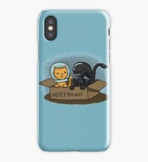 Kitten and Alien iPhone Case/Skin