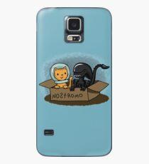 Kitten and Alien Case/Skin for Samsung Galaxy