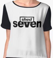 Shed Seven Chiffon Top