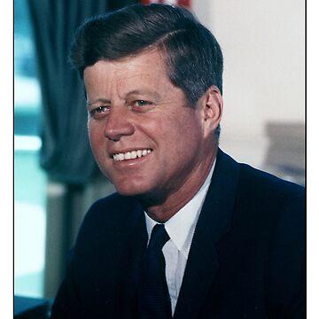 John F Kennedy American President by ozziwar