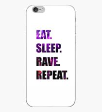 Eat.Sleep.Rave.Repeat. iPhone-Hülle & Cover
