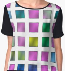 karo colorful metallic luxury Chiffon Top