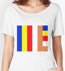 Buddhism Flag Women's Relaxed Fit T-Shirt
