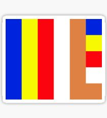 Buddhism Flag Sticker