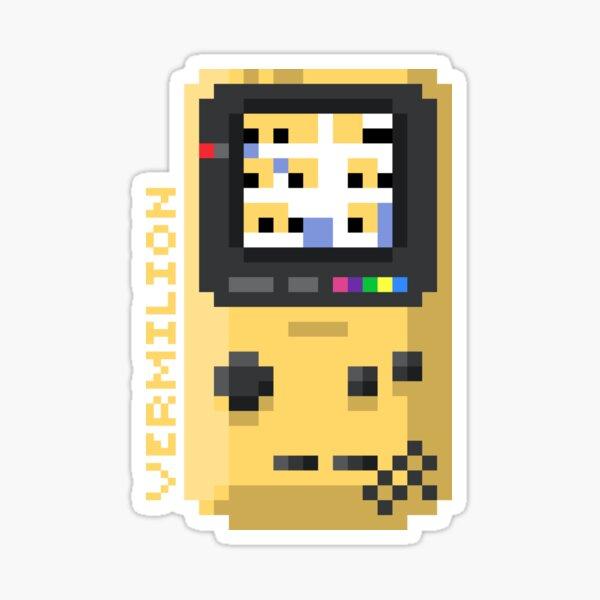 Vermilion - Pixel Cities Serie 10/10 Sticker