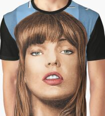 My name is MILLA (portrait of Milla Jovovich) Graphic T-Shirt