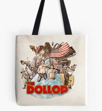 The Dollop (textless) Tote Bag