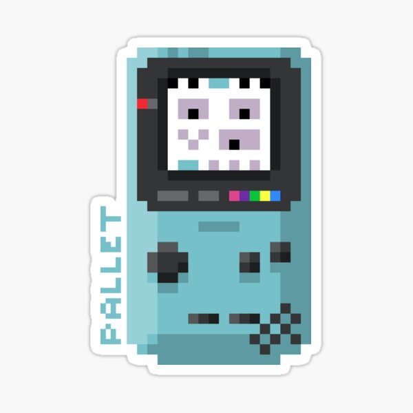 Pallet - Pixel Cities Serie 8/10 Sticker