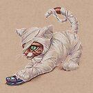 Mummy Kitten ..... attacks!!!! by justteejay