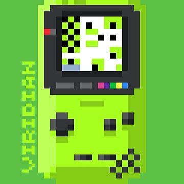 Viridian - Pixel Cities Serie 3/10 by mdmShirts
