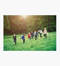 BTS GROUP PHOTO - Pt.2 #3 Photographic Print