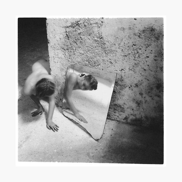 Francesca Woodman - Self Deceit #1 Photographic Print