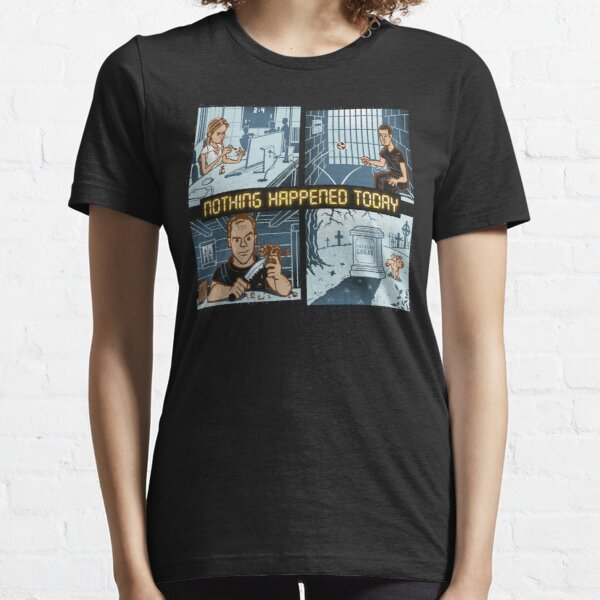 Events still occur in real time Essential T-Shirt