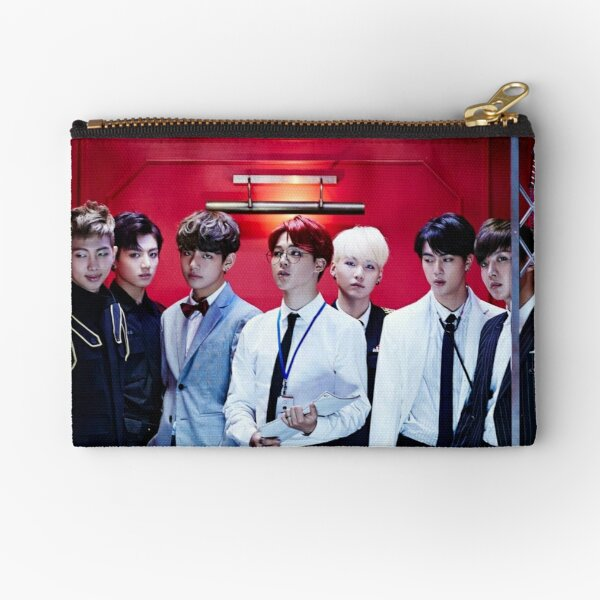 BTS GROUP - DOPE Zipper Pouch