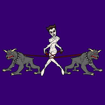 Gozer Walks Her Terror Dogs by robotghost