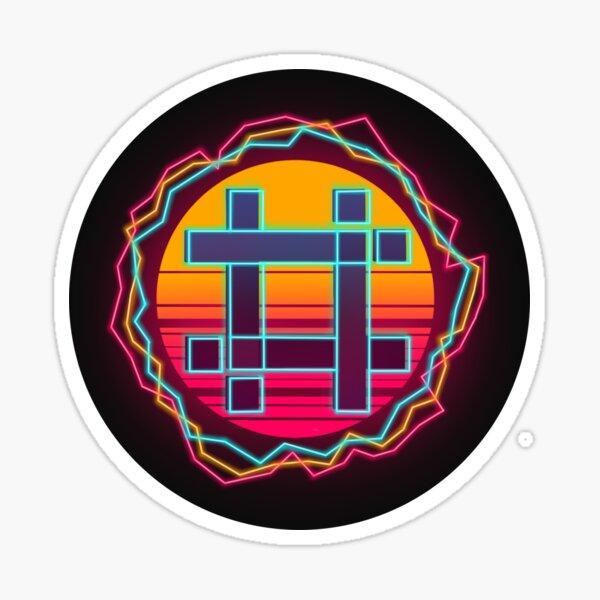 Sheezy Logo Synthwave Sticker