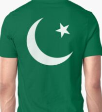 Pakistani Flag, Flag of Pakistan, Pakistan, Pakistani, Cresent Moon & Star, Islam, Pure & simple T-Shirt