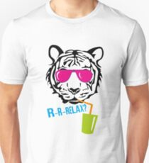 Face of a tiger relax Unisex T-Shirt